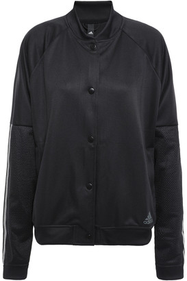adidas Mesh-paneled Jersey Jacket