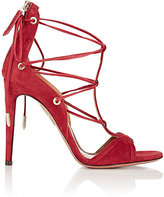 Aquazzura Women's Cayenne Sandals-RED