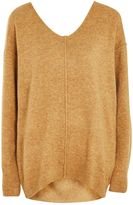 Topshop TALL Knitted Stretch V-Neck Jumper