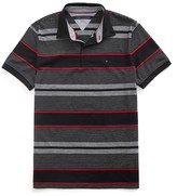 Tommy Hilfiger Custom Fit Novelty Stripe Polo