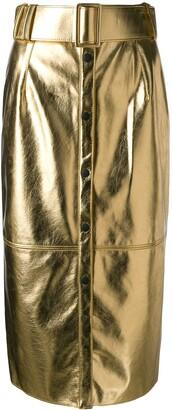 MSGM High-Waisted Skirt