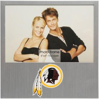 "Redskins Unbranded Washington 4"" x 6"" Aluminum Picture Frame"