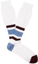Raf Simons Striped Cotton Socks