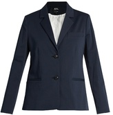 A.P.C. Jeanne pinstriped cotton-blend blazer