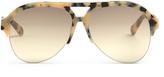 Stella McCartney Half-frame acetate sunglasses