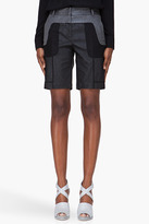 Alexander Wang Charcoal Revealed Tailor Shorts