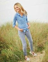 Boden Zip Ankle Skimmer Jeans
