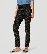LOFT Petite Diamond Dot Essential Skinny Ankle Pants in Julie Fit
