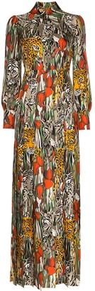 Gucci Garden Print Maxi Dress
