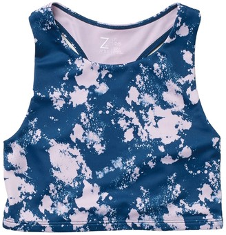 Z By Zella State of Mind Longline Sports Bra (Little Girls & Big Girls)