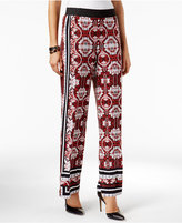 INC International Concepts Petite Printed Palazzo Pants, Only at Macy's