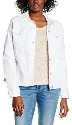 Tommy Hilfiger Women's Verona Jkt Clr Jacket, White (Classic White), 6