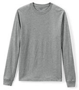 Classic Men's Long Sleeve Essential Tee-White
