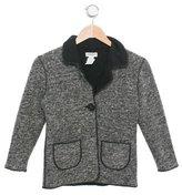 Sonia Rykiel Girls' Collared Long Sleeve Jacket