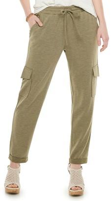 American Rag Juniors' Knit Cargo Pants