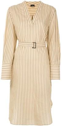 Joseph Striped Blouse Dress