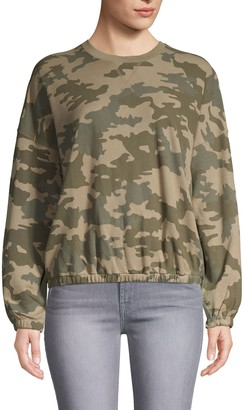 ATM Anthony Thomas Melillo Camouflage Cotton Sweatshirt