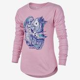Nike Converse Drip Drop Shoulder Big Kids' (Girls') T-Shirt (XS-XL)
