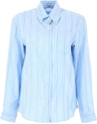 Prada Pin-Striped Shirt