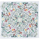 Gucci Floral Print Pocket Square