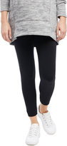 Motherhood No Belly Fleece Maternity Leggings