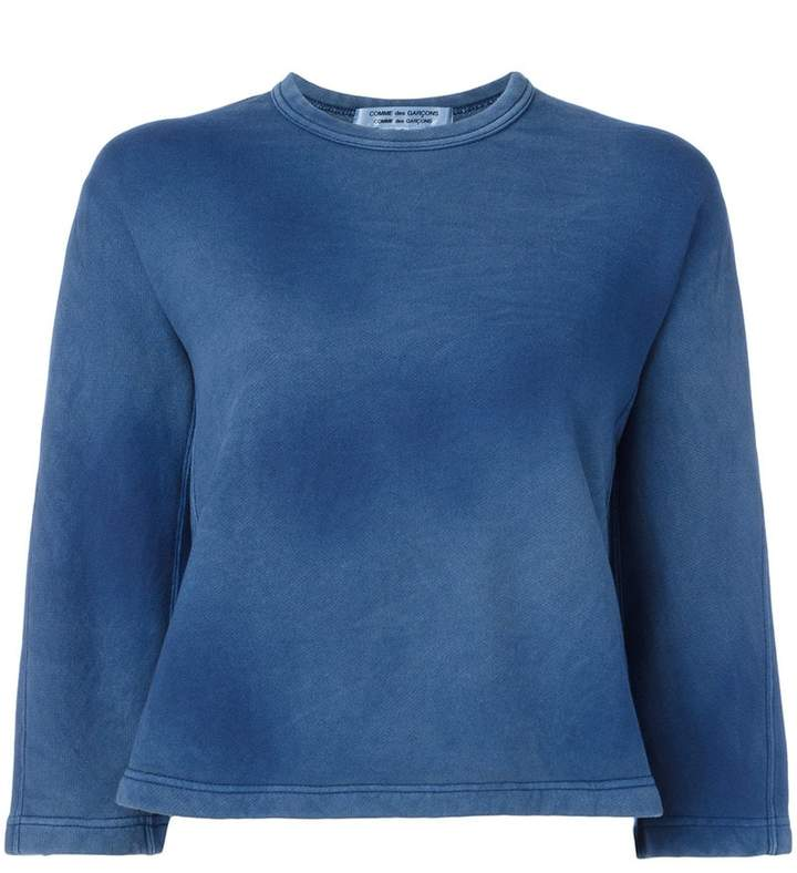 Comme des Garcons faded effect sweatshirt