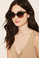 Forever 21 FOREVER 21+ Browline Cat Eye Sunglasses