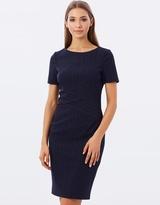 Karen Millen Pinstripe Dress