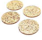 Kate Spade Happy Hour Glitter Coaster Set