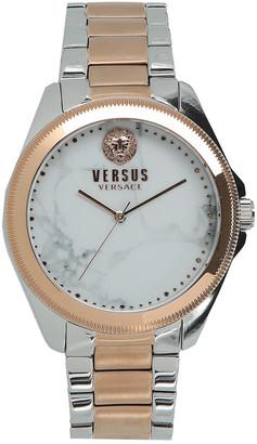 Versace Women's Elmont Faux Stones Watch