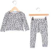 Stella McCartney Girls' Leopard Print Pajama Set