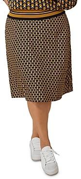 Marée Pour Toi Geo Print Skirt