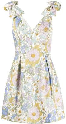 Zimmermann Floral Print Skater Dress