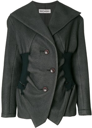 Issey Miyake Pre-Owned double breasted jacket