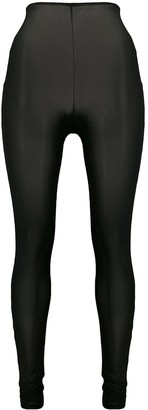 Alchemy sheer high-rise leggings