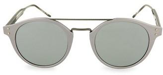 Bottega Veneta Novelty 50MM Round Sunglasses