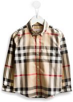 Burberry House Check button down shirt - kids - Cotton - 4 yrs