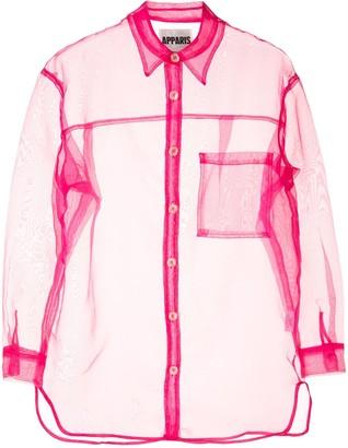 Apparis Evelyn sheer shirt