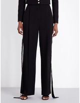 Givenchy Wide-leg Crepe Trousers