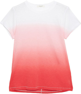 Rag & Bone Degrade Pima Cotton-jersey T-shirt