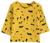 Imps & Elfs Organic Cotton Animals Allover Sweatshirt