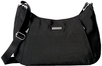 Baggallini Legacy Slim Crossbody Hobo (Black) Hobo Handbags