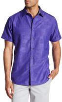 Robert Graham Blairwood Short Sleeve Button Classic Fit Shirt
