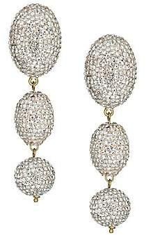 Lele Sadoughi Women's 14K Yellow Goldplated & Bubble Triple Drop Earrings