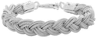 Emanuele Bicocchi White Braided Bracelet