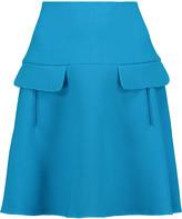 Oscar de la Renta Stretch wool-blend mini skirt