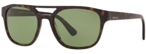 Prada Polarized Sunglasses, Pr 23VS 56 Heritage