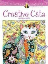 Dover Creative Haven Creative Cats Coloring Book