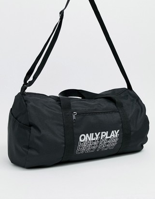 Only Play gym holdall in black
