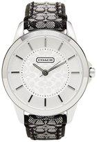 Coach Women's 14501524 Leather Quartz Watch